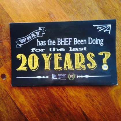 BHEF Annual Appeal Timeline